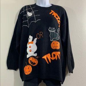 Vintage oversized Halloween sweater